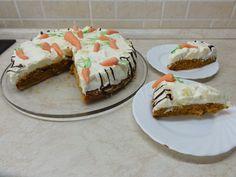 Mrkvový dort s ananasem + videorecept | Recepty a videorecepty