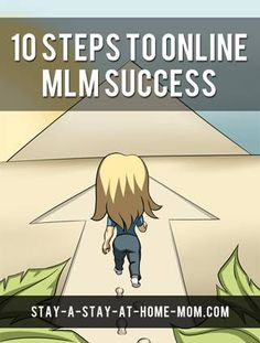 10 steps to online mlm success