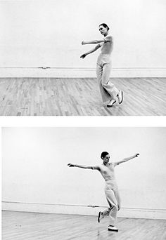 Lucinda Childs in Solo of Dance, composite