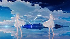Anime Kunst, Anime Art, Puzzle Box, Manga Pictures, Manga Girl, Anime Girls, Kawaii Girl, Hatsune Miku, Anime Style