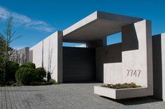 Fachada: Casa Zaror - Jaime Bendersky Arquitectos #arquitectura