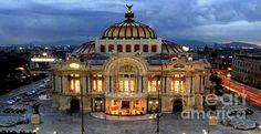 Rafael Salazar - Palacio de Bellas Artes Mexico