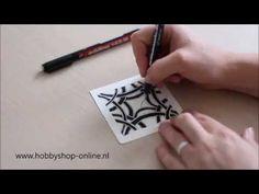 Zentangle voorbeelden | hobbyshop-online.nl