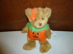 Vintage Jerry Elsner JackoLantern Halloween Bear Teddy by BathoryZ