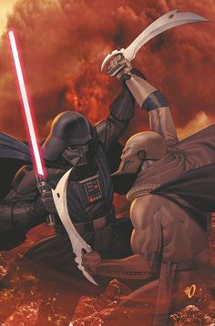 STAR WARS: DARTH VADER AND THE NINTH ASSASSIN #5 (of 5) Tim Siedell (W), Iván Fernández (P), Denis Freitas (I), Michael Atiyeh (C), and Ariel Olivetti (Cover) On sale Aug 21 FC, 32 pages $3.50