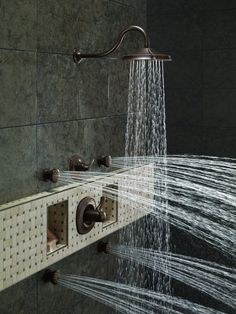6 Jet Body Spray Shower System With LED Shower Head | Master Bath Details |  Pinterest | Shower Systems, Bath And Kitchens