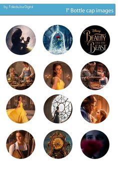 Free Bottle Cap Images: Beauty and the Beast with Emma Watson - free bottl...