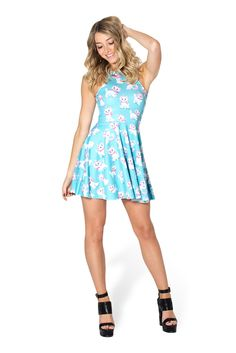 Marie Reversible Skater Dress by Black Milk Clothing (Size S)