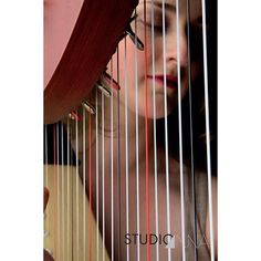 StudioAnna - Harpe #studioanna_paris #harp #music #studioshoot #art #woman #d810 #nikon