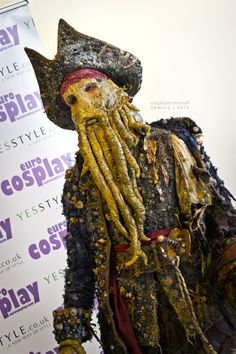 Manuel from Italy as Davy Jones (Pirates of the Caribbean)  eurocosplay  Movie Decor 40a9dd6be5bc