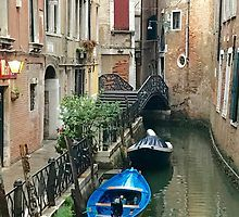 Parked Boats in Venice by ItalianOntheGo