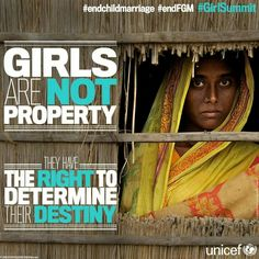 Support the Right of Girls movement.