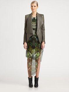 Helmut Lang - Supple Leather Jacket - Saks.com    I want it.