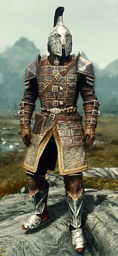 """Imperial Legate"" by Leprapimp  Dawnguard Heavy Armor and Gauntlets  Imperial Boots and Helmet"