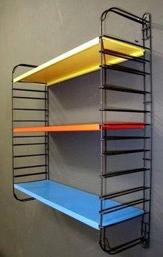 I've always had my own book shelves, and mine were orange. My Childhood Memories, Sweet Memories, Childhood Toys, Vintage Design, Retro Vintage, Vintage Stuff, Storage Shelves, Shelving, Book Shelves