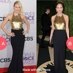 Who wore it better a or b