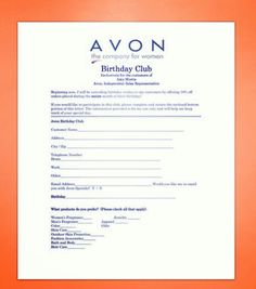 Did you know that if you join my Birthday Club you will receive a 15% discount on your order during your birthday month? Fill out this form and send it to youratlavonrep@gmail.com.  #birthday #birthdayclub #discount #avonlady