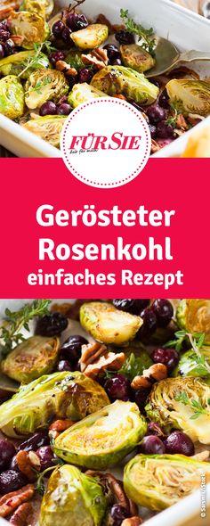 gerösteter Rosenkohl - einfaches Rezept