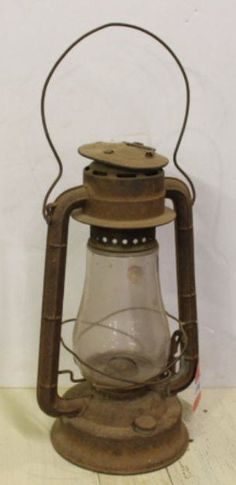 "Vintage Dietz Lantern 15"" Tall Railroad by NikkoChikko on Etsy"