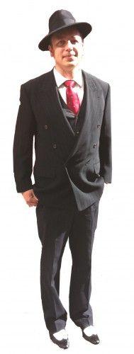 1940s Mens Fashion Costume Suit 1940s Mens Fashion, Vintage Fashion, Heu0027s  Beautiful, Sports