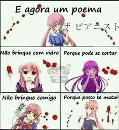 Anime Meme, Otaku Meme, Kawaii Chan, Yuno Gasai, Mirai Nikki, Yandere Simulator, Crazy Girls, Wattpad, Hilarious Memes