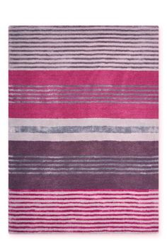 Buy Multi Stripe Luxurious Wool And Viscose Rug from the Next UK online shop
