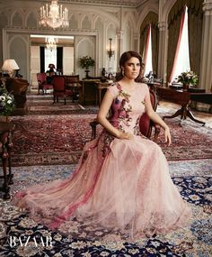 Royal_shoot_Princess_Eugenie_(daughter of Prince Andrew of England and Sarah Ferguson) poses_for_the_latest_issue_of_Harper Princesa Kate, Princesa Eugenie, Princesa Real, Sarah Ferguson, Royal Princess, Princess Beatrice, Princess Katherine, Duchess Of York, Duke Of York