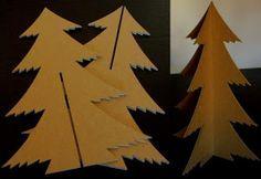 <h1>Arbol de Navidad en carton reciclado (3D de encastre)</h1> : VCTRY's BLOG