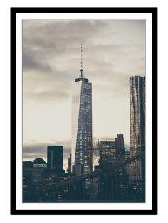 One World (Framed Giclee) by New Era at Gilt