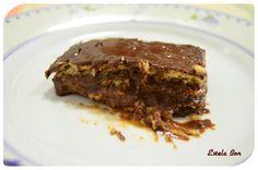 Tarta de galletas de chocolate #receta #tarta