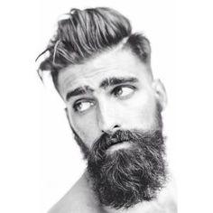 undercut beard