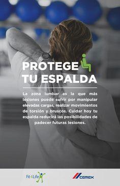 CEMEX lanza la campaña protege tu espalda - Prevencionar, tu portal sobre prevención de riesgos laborales.