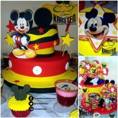 Torta, Gelatina, CupCakes de #MickeyMouse