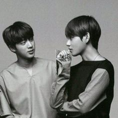 """let me be brutally honest; taejin is my superior ship"" Bts Jin, Bts Taehyung, Bts Bangtan Boy, Namjoon, Jimin, Jikook, Bts Love Yourself, Worldwide Handsome, Bts Pictures"