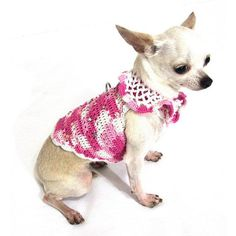 Pink Dog Dresses With Swarovski Crystal Rhinestones Pet Accessories Teacup Chihuahua Clothes Puppy Harness DK913 Myknitt – Free Shipping by myknitt http://petuoso.com/s/pink-dog-dresses-with-swarovski-crystal-rhinestones-pet-accessories-teacup-chihuahua-clothes-puppy-harness-dk913-myknitt-free-shipping-by-myknitt/