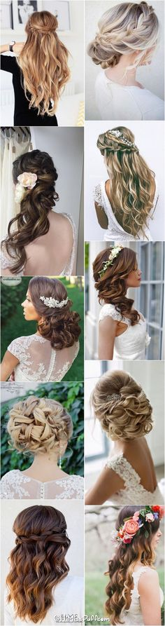200 Bridal Wedding Hairstyles for Long Hair That Will Inspire / http://www.himisspuff.com/bridal-wedding-hairstyles-for-long-hair/ http://fancytemplestore.com