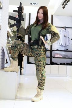 what to wear as a girl in airsoft