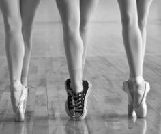 Yep, this is me...except, switch the pointe shoes out for tap shoes with strong toe boxes :P