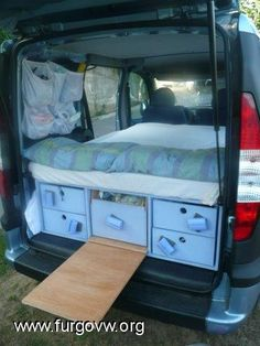 32 Stunning Ideas For Camper Van Conversions Cool Interior Design Ideas to Elevate Your Home 32 Stunning Ideas For Camper Van ConversionsYou might have to vent the van well whenever y Diy Camper, Camper Van, Vw T5, Minivan Camping, Kangoo Camper, Van Dwelling, Van Interior, Interior Design, Truck Accessories