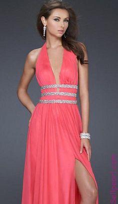 789a8751e915 Embellished Pink Sleeveless Sheath V-neck Natural Prom Dresses Sale Prom  Dress prom Dresses