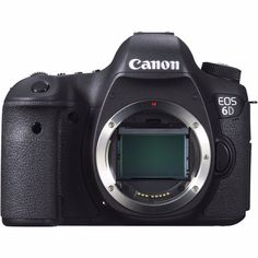 Canon EOS 6D DSLR Digital SLR 20.2MP Camera Body. • Canon 6D Body. • Wide Neck Strap EW-EOS 6D. Compact, lightweight, brilliant low-light performance, and loaded with easy to use features, the EOS 6D is truly the Full-Frame DSLR camera for everyone.   eBay!