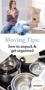 Moving Organization Tips - Moving Tips How to Unpack & Get Organized Unpacking After Moving, Unpacking Tips, Moving Organisation, Desk Organization Tips, Moving House Tips, Moving Tips, Moving Hacks, Moving Out Checklist, Organizing For A Move