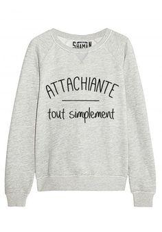 """Sweat """"Attachiante"""""""