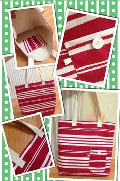 details of my #totebag #summerbag #beachbag