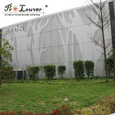 Architectural Picture Perforated Metal Panel For Facades Curtain Wall Decoration - Buy Image Perforated Meal Panel For Railing Panel,Picture Perforation Metal Panel,Picture Perforation For Balustrades/sunscreen/wall Cladding/signage/partition Or Artwork/decoration Product on Alibaba.com