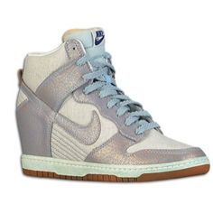 Nike Dunk Sky Hi - A Pair that I would casually wear.  I do wear this way - L.A. nike factory outlet