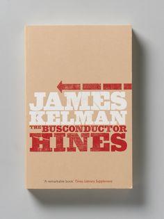 Angus Hyland: James Kelman paperback cover