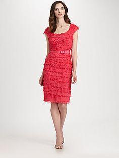 Tadashi Shoji Tiered Dress - Lily     $368.00