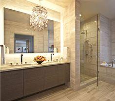 of Elegance and Luxury: The Ritz-Carlton Residences at L. Live Rules of Elegance and Luxury: The Ritz-Carlton Residences at L. LiveRules of Elegance and Luxury: The Ritz-Carlton Residences at L. Bad Inspiration, Bathroom Inspiration, Bathroom Ideas, Bathroom Designs, Bathroom Styling, Condo Bathroom, Master Bathroom, Bathroom Mirrors, Condo Design