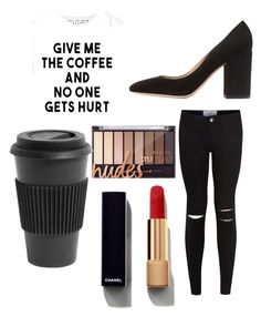 """Untitled #6864"" by ohnadine on Polyvore featuring New Look, Gianvito Rossi, Chanel and Homage"